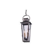 41ELIZABETH 46307-AP Bancroft 2 Light 7 inch Aged Pewter Outdoor Hanging Lantern in Incandescent