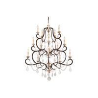 41ELIZABETH 41176-PB Carolus 15 Light 43 inch Parisian Bronze Chandelier Ceiling Light