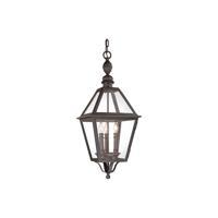 41 Elizabeth 46291-NB Stanley 3 Light 11 inch Natural Bronze Outdoor Hanging Lantern