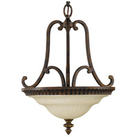 41 Elizabeth 46751-WAS Gower 2 Light 17 inch Walnut Pendant Ceiling Light in Standard