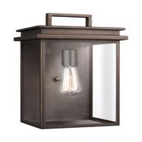 41 Elizabeth 42808-ABCG Chancellor 1 Light 15 inch Antique Bronze Outdoor Wall Lantern