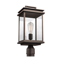 41ELIZABETH 42810-ABCG Chancellor 1 Light 17 inch Antique Bronze Outdoor Post Lantern