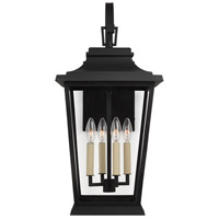 41 Elizabeth 46443-TBC Ronalda 4 Light 26 inch Textured Black Outdoor Wall Lantern