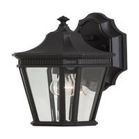 41 Elizabeth 40561-BCB Quade 1 Light 12 inch Black Outdoor Wall Sconce