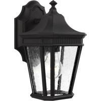 41 Elizabeth 41188-BCS Quade 1 Light 12 inch Black Outdoor Wall Lantern