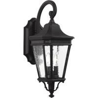 41 Elizabeth 41189-BCS Quade 2 Light 21 inch Black Outdoor Wall Lantern