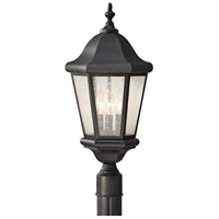 41ELIZABETH 46744-BCS Ilisa 3 Light 22 inch Black Post Lantern