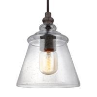 41 Elizabeth 41046-DWCS Kordell 1 Light 6 inch Dark Weathered Iron Pendant Ceiling Light