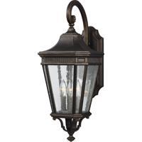 41ELIZABETH 47489-GBCS Quade 24 inch Grecian Bronze Outdoor Wall Lantern