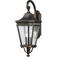 41 Elizabeth 47493-GBCS Quade 30 inch Grecian Bronze Outdoor Wall Lantern
