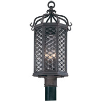 41ELIZABETH 40928-OI Priscilla 3 Light 23 inch Old Iron Post in Incandescent