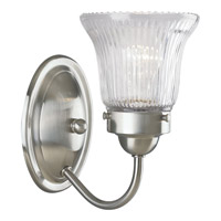 Brushed Nickel Clarence Bathroom Vanity Lights