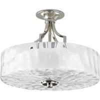 41 Elizabeth 41363-PNEO Gail 2 Light 16 inch Polished Nickel Semi-Flush Mount Ceiling Light