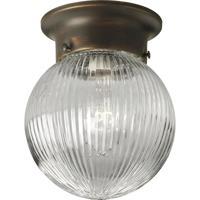41ELIZABETH 41392-ABCR Ginger 1 Light 6 inch Antique Bronze Flush Mount Ceiling Light