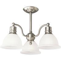 41 Elizabeth 41438-BNE Beacher 3 Light 21 inch Brushed Nickel Semi-Flush Mount Ceiling Light