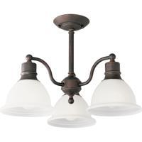 41 Elizabeth 41439-ABE Beacher 3 Light 21 inch Antique Bronze Semi-Flush Mount Ceiling Light
