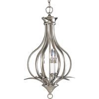 41 Elizabeth 41341-BN Nerissa 3 Light 14 inch Brushed Nickel Hall & Foyer Ceiling Light