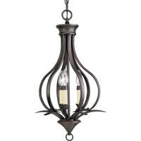 41 Elizabeth 41342-AB Nerissa 3 Light 14 inch Antique Bronze Hall & Foyer Ceiling Light