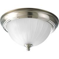41 Elizabeth 41428-BNER Skeet 1 Light 11 inch Brushed Nickel Close-to-Ceiling Ceiling Light