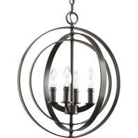 41 Elizabeth 41327-AB Buster 4 Light 16 inch Antique Bronze Hall & Foyer Ceiling Light
