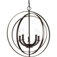 41 Elizabeth 41517-AB Buster 5 Light 22 inch Antique Bronze Chandelier Ceiling Light