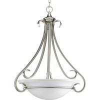 41 Elizabeth 41343-BNE Slade 3 Light 22 inch Brushed Nickel Hall & Foyer Ceiling Light in Etched