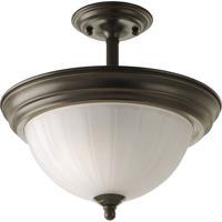 41 Elizabeth 41422-ABEM Skeet 2 Light 13 inch Antique Bronze Semi-Flush Mount Ceiling Light
