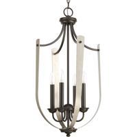 41 Elizabeth 43414-ABI Vanora 4 Light 16 inch Antique Bronze Hall & Foyer Ceiling Light Design Series