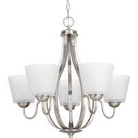 41ELIZABETH 41503-BNE Jay 5 Light 25 inch Brushed Nickel Chandelier Ceiling Light