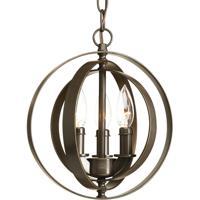 41 Elizabeth 41360-AB Buster 3 Light 10 inch Antique Bronze Pendant Ceiling Light