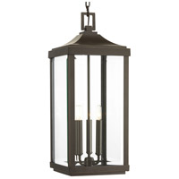 41ELIZABETH 43520-ABCB Caelum 3 Light 10 inch Antique Bronze Outdoor Hanging Lantern Design Series