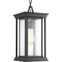 41 Elizabeth 42068-BCSI Leticia 1 Light 7 inch Black Outdoor Hanging Lantern