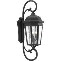 41ELIZABETH 43526-BCSI Gilford 3 Light 31 inch Black Outdoor Wall Lantern Extra Large Design Series