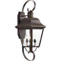 41 Elizabeth 42040-ABCB Tiera 4 Light 34 inch Antique Bronze Outdoor Wall Lantern Clear Beveled Glass