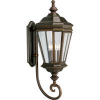 41 Elizabeth 41847-ORCB Donato 3 Light 29 inch Oil Rubbed Bronze Outdoor Wall Lantern