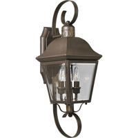 41 Elizabeth 42037-ABCB Tiera 2 Light 21 inch Antique Bronze Outdoor Wall Lantern