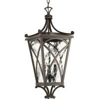 41ELIZABETH 43521-ORCW Madison 3 Light 10 inch Oil Rubbed Bronze Outdoor Hanging Lantern Design Series