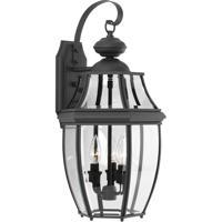 41ELIZABETH 42046-BCBI Natalie 3 Light 22 inch Black Outdoor Wall Lantern Large