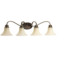 41ELIZABETH 41942-ABTS Valerie 4 Light 34 inch Antique Bronze Bath Vanity Wall Light