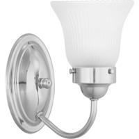 41ELIZABETH 46383-PCEF Clarence 1 Light Polished Chrome Bath Vanity Wall Light