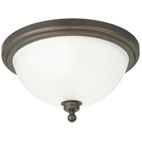 41ELIZABETH 41374-ABE Beacher 2 Light 16 inch Antique Bronze Flush Mount Ceiling Light thumb