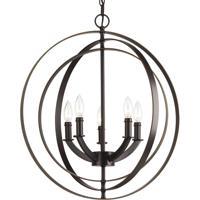 41ELIZABETH 41517-AB Buster 5 Light 22 inch Antique Bronze Chandelier Ceiling Light