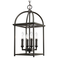 41ELIZABETH 41329-AB Fiona 4 Light 9 inch Antique Bronze Foyer Lantern Pendant Ceiling Light