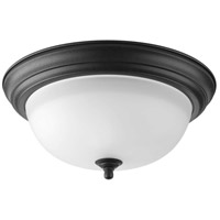 41ELIZABETH 41465-FBEG Adelmo 2 Light 13 inch Forged Black Flush Mount Ceiling Light thumb