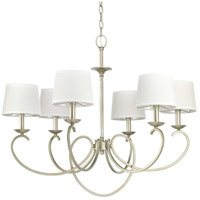 41ELIZABETH 43323-SRI Brenda 6 Light 33 inch Silver Ridge Chandelier Ceiling Light, Design Series