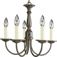 41ELIZABETH 41223-AB Kipling 5 Light 18 inch Antique Bronze Chandelier Ceiling Light