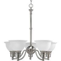 41ELIZABETH 41269-BNE Beacher 5 Light 25 inch Brushed Nickel Chandelier Ceiling Light