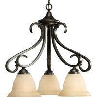 41ELIZABETH 41255-FBT Slade 3 Light 19 inch Forged Bronze Chandelier Ceiling Light