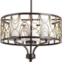 41ELIZABETH 41498-ABEW Adalbert 3 Light 18 inch Antique Bronze Chandelier Ceiling Light