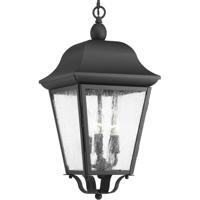 41ELIZABETH 43510-BCSI Orman 3 Light 10 inch Textured Black Outdoor Hanging Lantern, Design Series